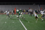 Rancho's #35 gets the first down and more on this pass play over the middle.